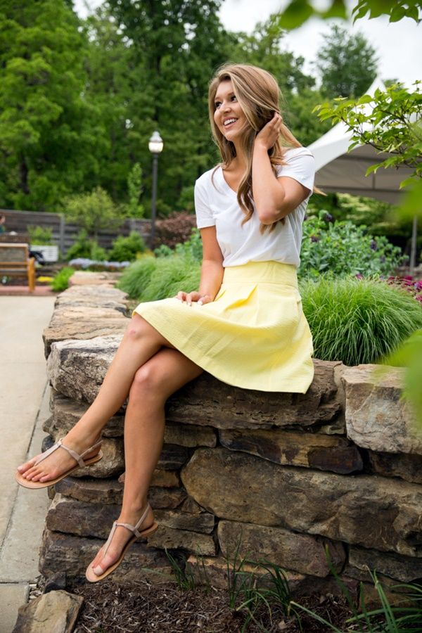 Preppy Summer Outfits and STYLE (22)