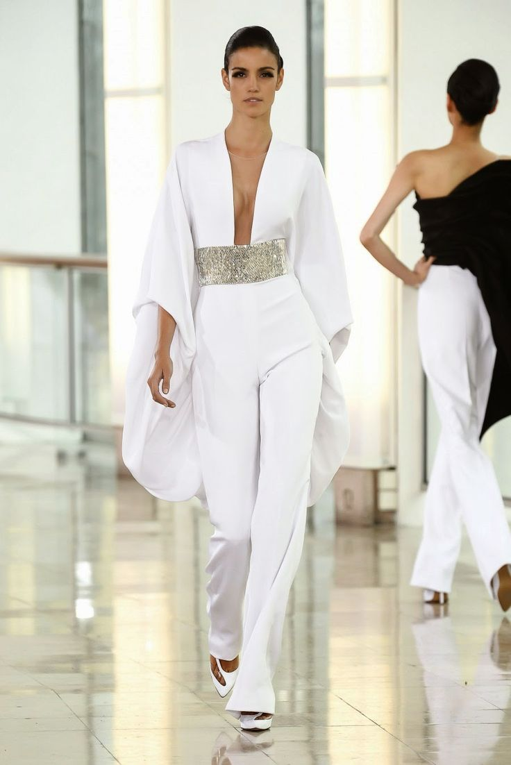 15 best Jumpsuits images on Pinterest | White jumpsuit ...