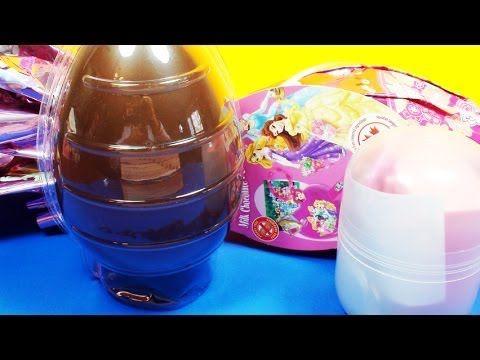 ★10 Disney Princess Kinder Surprise Super Eggs Limited Edition Ariel, Tangled, Cinderella, Belle!★  10 Kinder Surprise Eggs Unboxing, featuring the latest Disney Princess edition! Lots Of Surprises With The Famous Kinder Surprise!