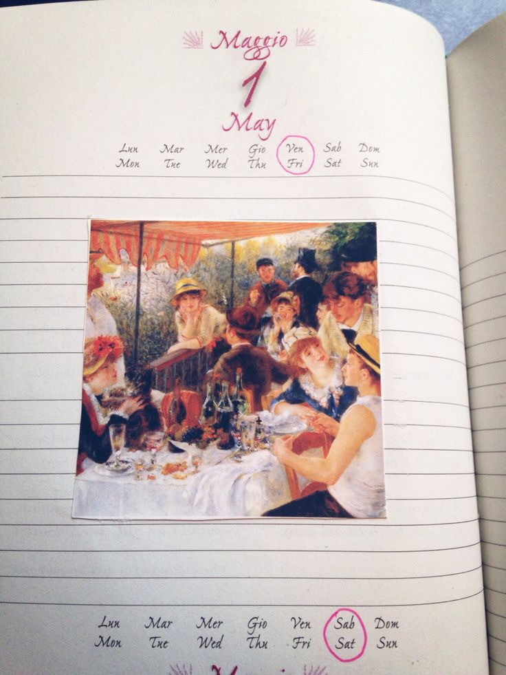May diary illustrations