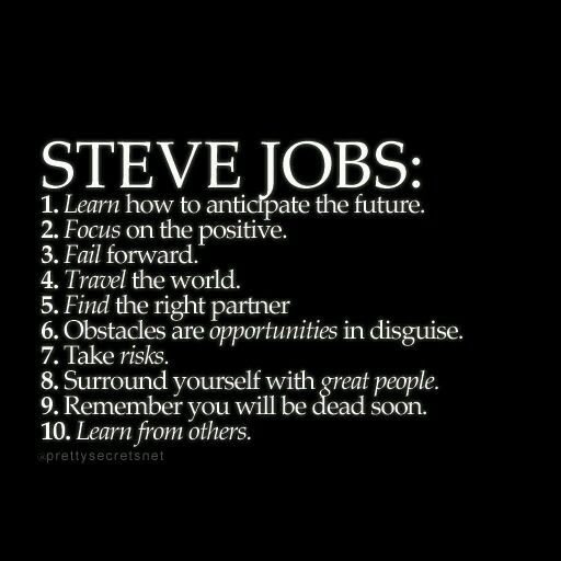 """an introduction to the life and history by steve jobs Steve jobs' commencement speech to stanford in 2005 sent a shiver up my  introduction of  """"when will ever this benefit me in life"""" steve jobs gave me the ."""