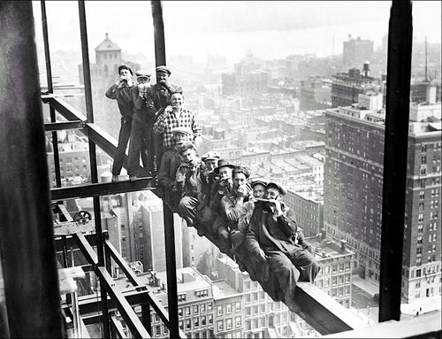 New York, circa 1920 / unknown photographer.  Photo causes me to hyperventilate just looking at it!
