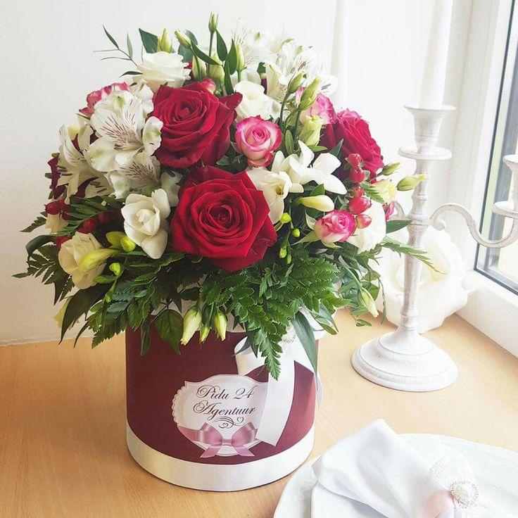 Цветы в шляпной коробке от Pidu 24 Agentuur. Lilled karbis