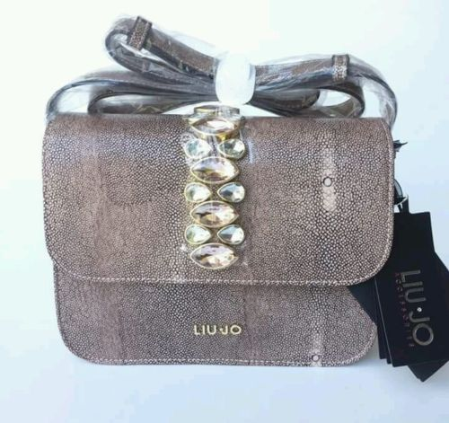 Handbags-shopping-LIU-JO-linea-strass-Ivory-Cream #handbags #bestprice #borse #donna #superprezzi #saldi #sale #borsescontate #liujo