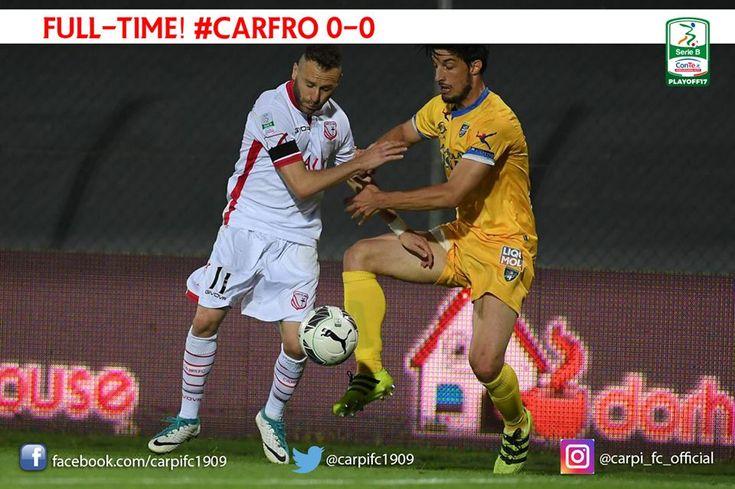 Playoff serie B, semifinale: Carpi Frosinone 0-0, Castori ingabbia Marino - http://www.contra-ataque.it/2017/05/26/carpi-frosinone-playoff.html