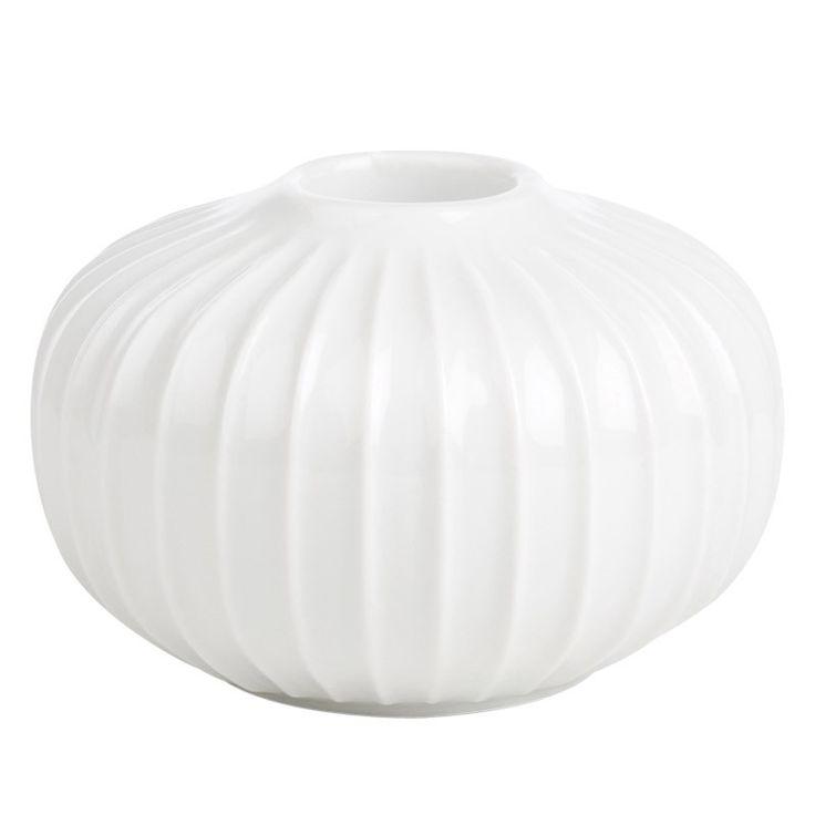 Hammershøi lysestage 5,5 cm hvid fra Kähler