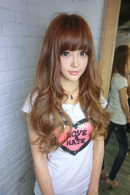Lengthy Asian Hairstyles - http://www.curly-hair-styles.com/curly-hair-models-2014/lengthy-asian-hairstyles.html