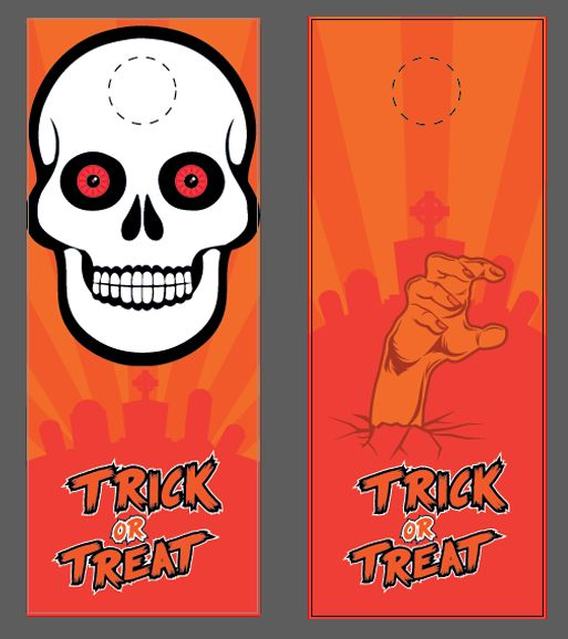 Decorating Ideas > 17 Best Images About We All Scream For Halloween! On  ~ 040025_Halloween Door Hangers Free Printable