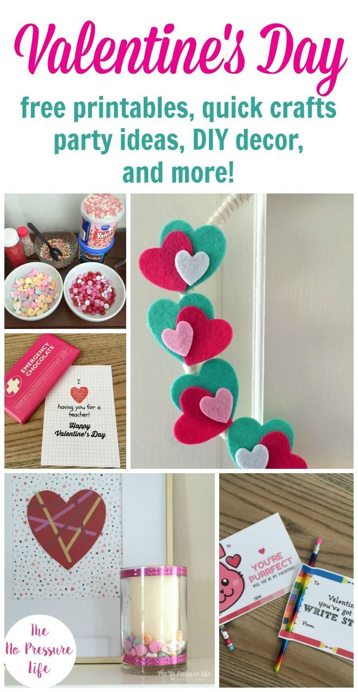 Check Out All These Easy Valentine S Day Ideas Simple Party Tips
