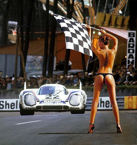 Porsches at Le Mans - 1969 to 1973 | Flickr - Photo Sharing!