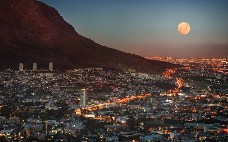 Cape Town (African: Kaapstad), Western Cape, South Africa, Africa