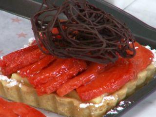 Tarta fina de mamey Chf. Paulina Abascal http://elgourmet.com/receta/tarta-fina-de-mamey