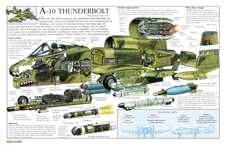 A10 Thunderbolt A10 Pinterest Cutaway, Hoods and