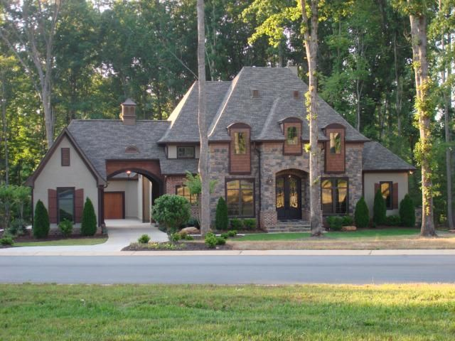 Easy living in denver s norman pointe on lake norman French style homes