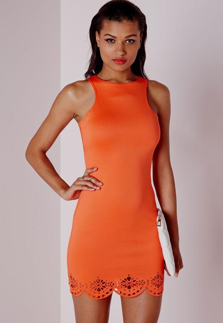 25  best Orange Bodycon Dress trending ideas on Pinterest | Boss ...