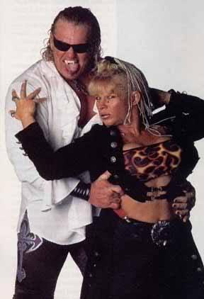 "Gangrel ( With Luna Vachon ) Real Name: David Heath Hometown: ""The Other Side of Darkness"" Weight: 255Ibs"