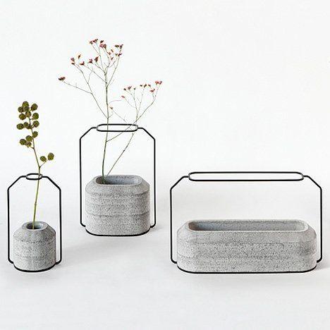 C Weight Vase Raw by Decha Archjananun for Specimen Editions | jebiga | #concrete #design