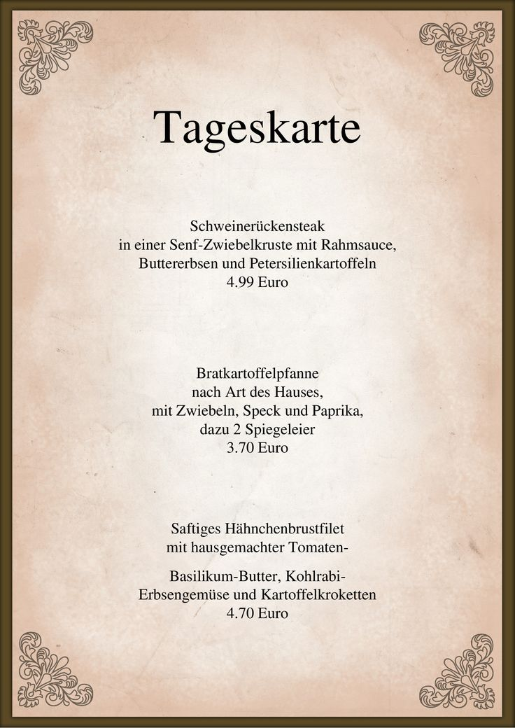 63 best menu card todays menu speisekarte tageskarte images on Pinterest  Create your own