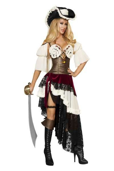 #FashionVault #roma #Women #Costumes - Check this : 3pc Sexy Pirateer Costume for $124.99 USD