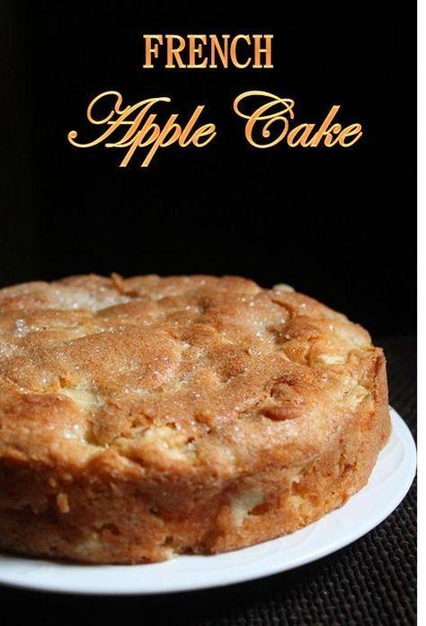 French Apple Cake Recipe Cake Recipes Apple Cake