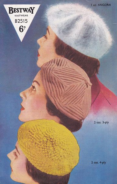 Vintage Knitting Pattern Beret : 17 Best ideas about Berets on Pinterest Beret outfit, Young kate moss and M...