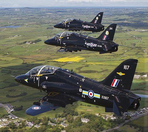 RAF Hawk Jets