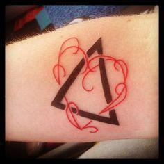adoption symbol tattoo on wrist - Google Search