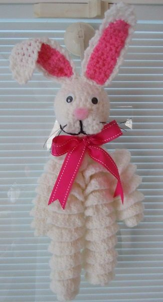 Easter Bunny Crochet Decoration Free Pattern