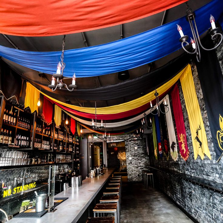THIS 'GAME OF THRONES'-THEMED BAR JUST OPENED AND IT LOOKS INSANE