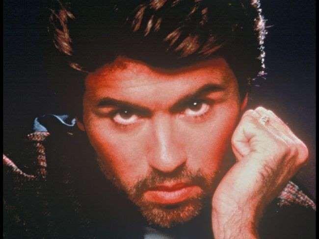 George Michael en 1993. Le chanteur anglais est mort à 53 ans le 25 décembre 2016. - BestImage