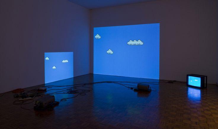 Cory Arcangel - super mario clouds