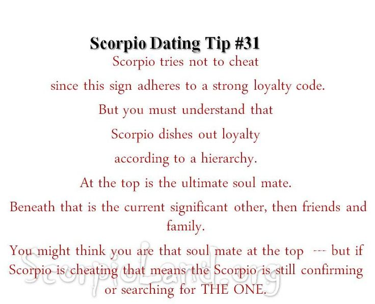 Scorpio woman dating scorpio woman