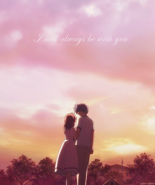 Nagisa and Tomoya <3 I will always be with you