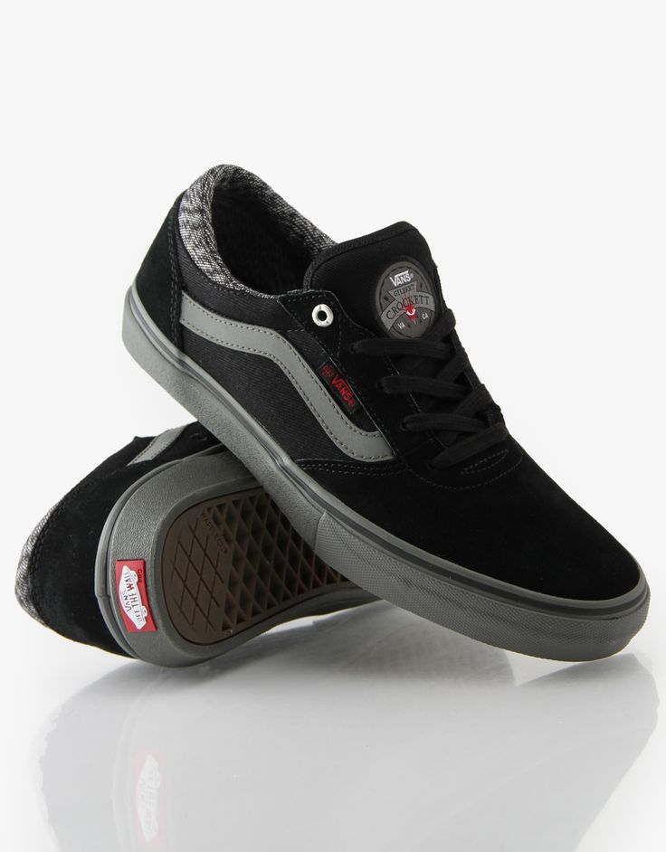 Vans Gilbert Crockett Pro x Independent Skate Shoes - Black/Charcoal -  RouteOne.co
