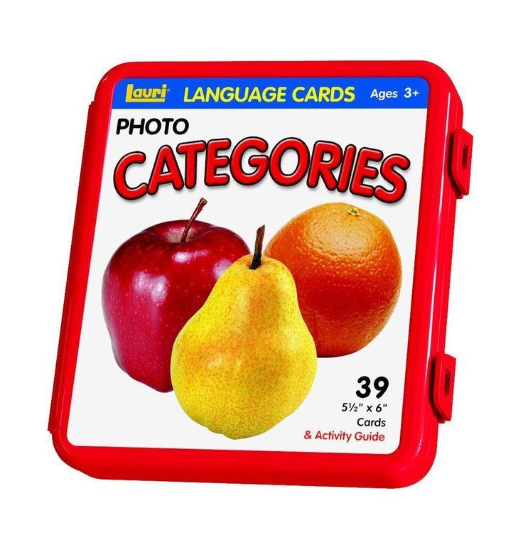 Photo Language Cards Child Categories Game Photo Cards Kids Family Learning Toys #PhotoLanguageCards