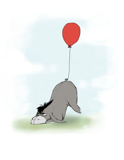 I feel like this sometimes. Oh Eeyore...