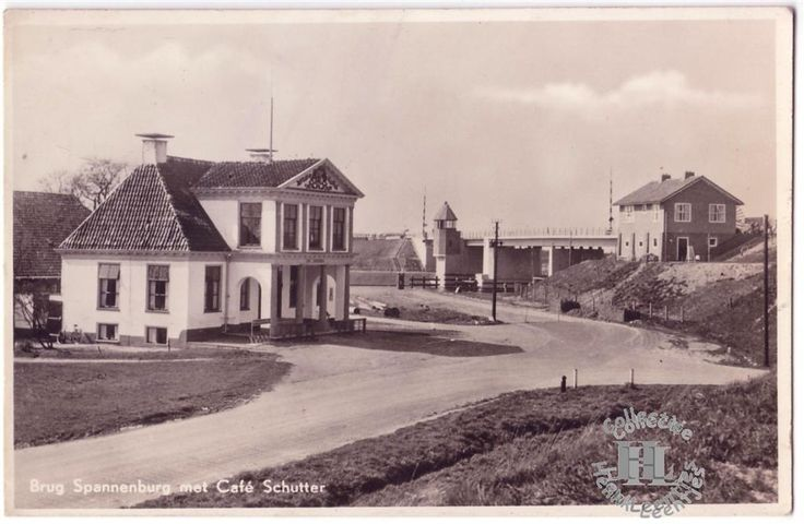 Hotel Spannenburg rond 1965