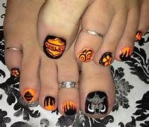 Harley Davidson Nail Art Besides On