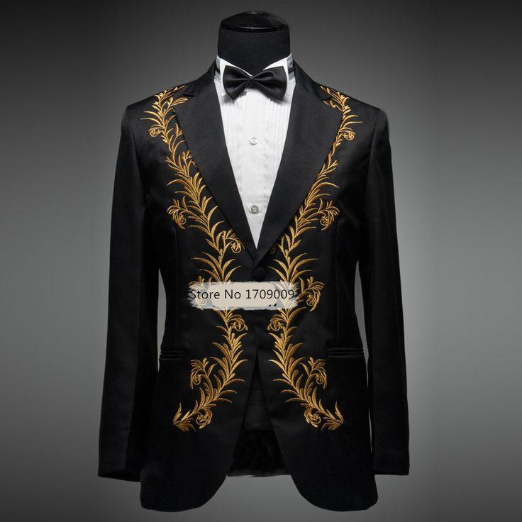 Купить товарМужские платье костюм свадебные костюмы для мужчин золотой черный белый костюмы свадебные костюм брак Homme золото емво смокинг жениха костюмы в категории Костюмына AliExpress. (Jacket + Pant) Mens Sequin Tuxedo Suits Man Gold Tuxedo Mens Sequin Suit  Tuxedo Jacket Gold  Sequin Tuxedo JacketUSD 7