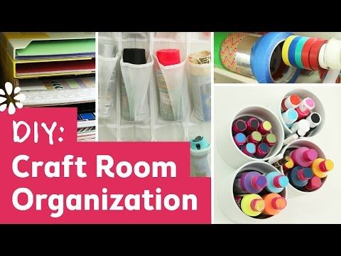 19 Craft Room Organization Hacks You Need to See - She Tried What