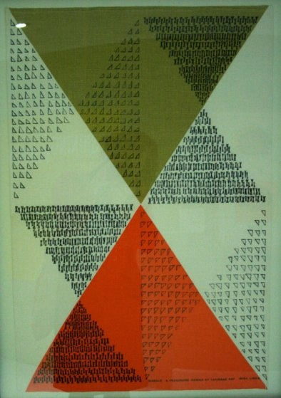 """""""Diablo"""" by Lucienne Day, 1962-3."""