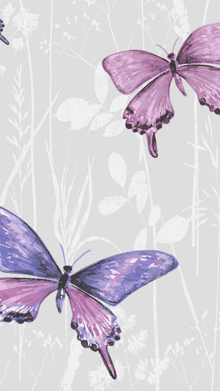 Great Purple Butterfly Wallpaper Android - 2018 iPhone X Wallpaper 254312710194145602
