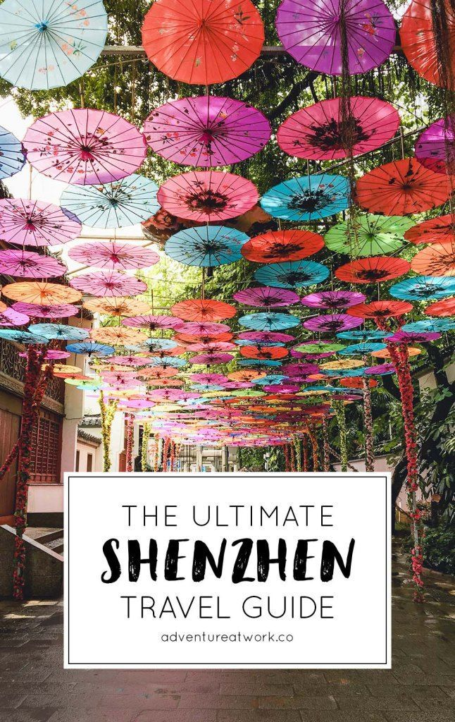 The Ultimate Guide to Shenzhen, China | Отпуск когда ...