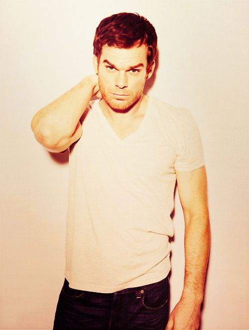 Michael C. Hall...otherwise known as my favorite serial killer Dexter :)