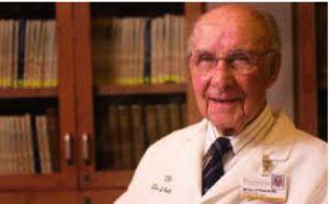 il Dottor Ponseti il medico che ha invento il metodo che porta il suo nome e che ha permesso ai nostri bambini di condurre una vita senza alcuna limitazione