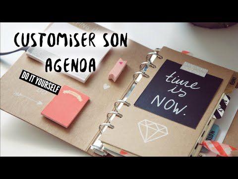 DIY BACK TO SCHOOL - Customiser son AGENDA - YouTube                                                                                                                                                                                 More