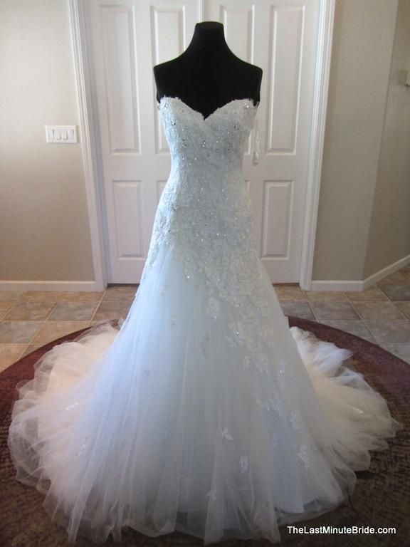 Sophia Tolli Jillian Y21246: buy this dress for a fraction of the salon price on PreOwnedWeddingDresses.com