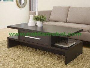 Meja Tamu Minimalis Surabaya merupakan produk mebel jepara yang diproduksi dengan bahan baku kayu jati