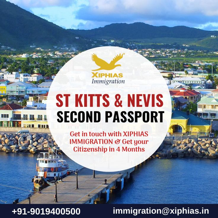 St Kitts and Nevis Second PassportXIPHIAS Immigration