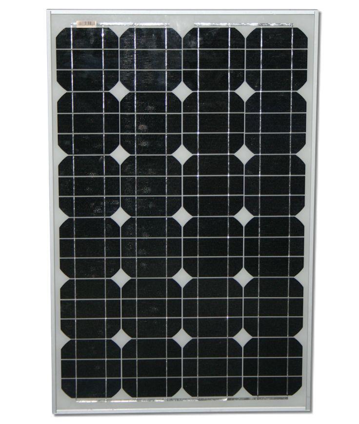 50Watt Solarmodul Solarpanel 12v 12Volt 50W Solar Solarzelle MONO MONOKRISTALLIN